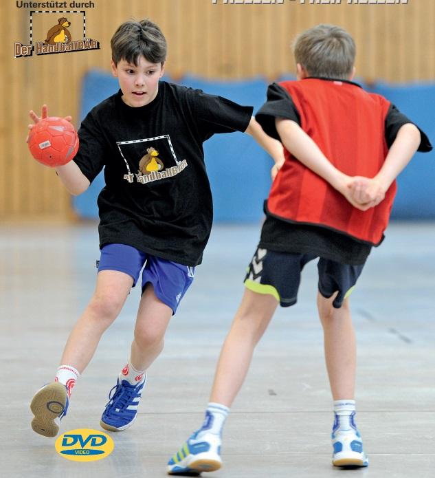 Trainingsbausteine für den Kinderhandball - Prellen und Freiprellen