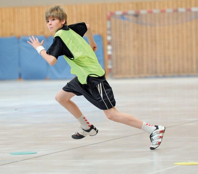 Trainingsbausteine für den Kinderhandball - Freilaufen und Doppelpass