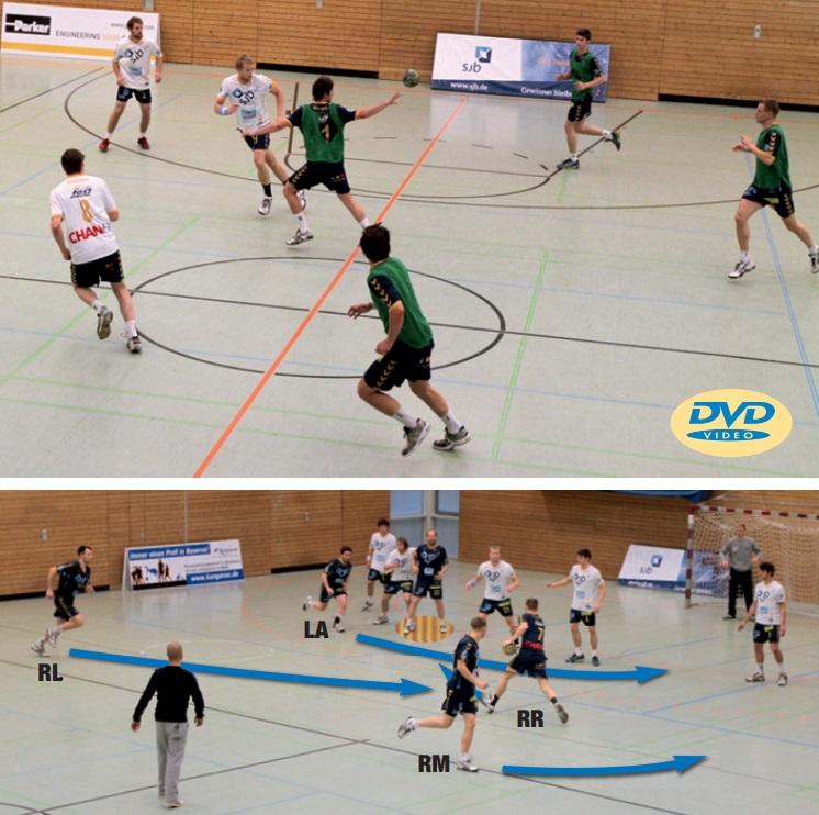 High-Speed-Handball: Trainingsformen zum Tempospiel für alle Bausteine einer Trainingseinheit