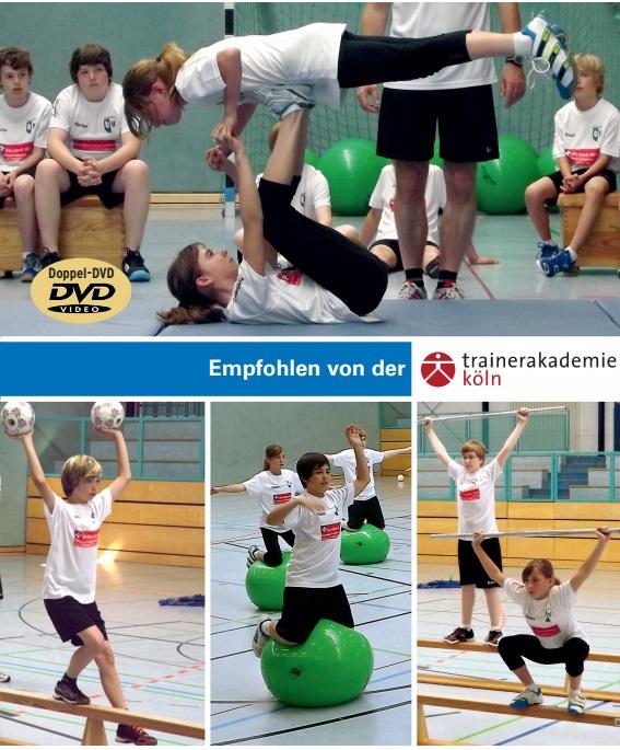 Kinder lernen Krafttraining II - athletische Grundfertigkeiten, freudbetonte (koordinative) Anwendung & Gestaltung einer Übungsstunde