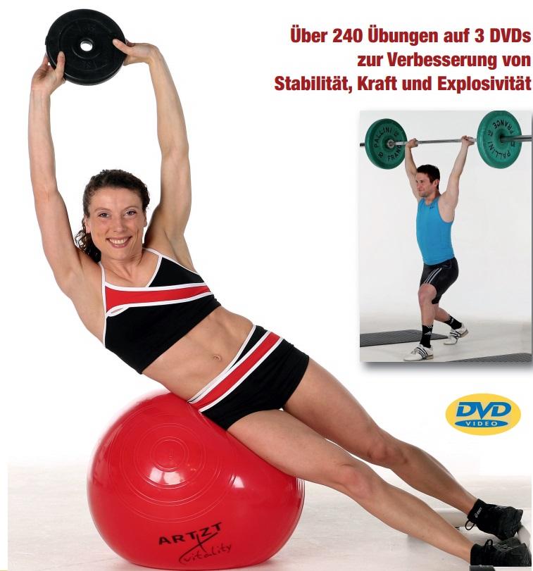 Athletiktraining II: Die Power-Position trainieren - Beinaktionen mit und ohne Rumpfrotation sowie effektives Abbremsen