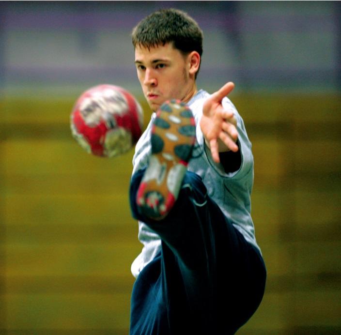 Handball pur Torwarttraining